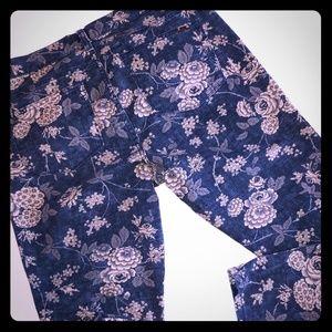 Ralph Lauren Floral Jeans 12P